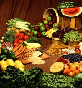 fiber foods and vegetables diet
